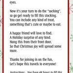 Pin On Christmas   You Ve Been Socked Free Printable