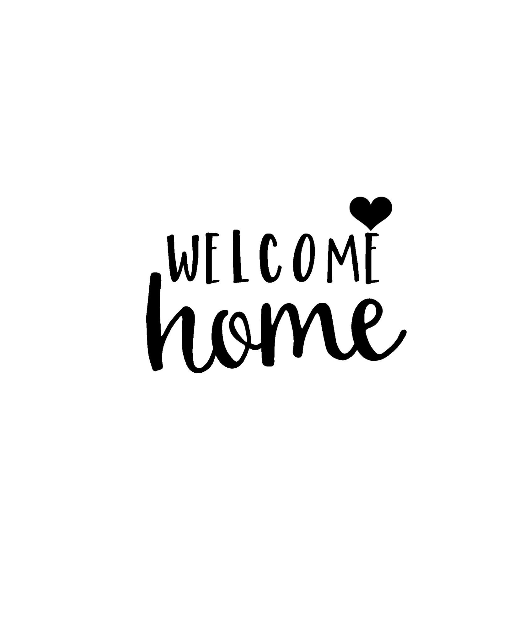 Pinbrett Henchy On Welcome Home | Pinterest | Welcome Home - Welcome Home Cards Free Printable