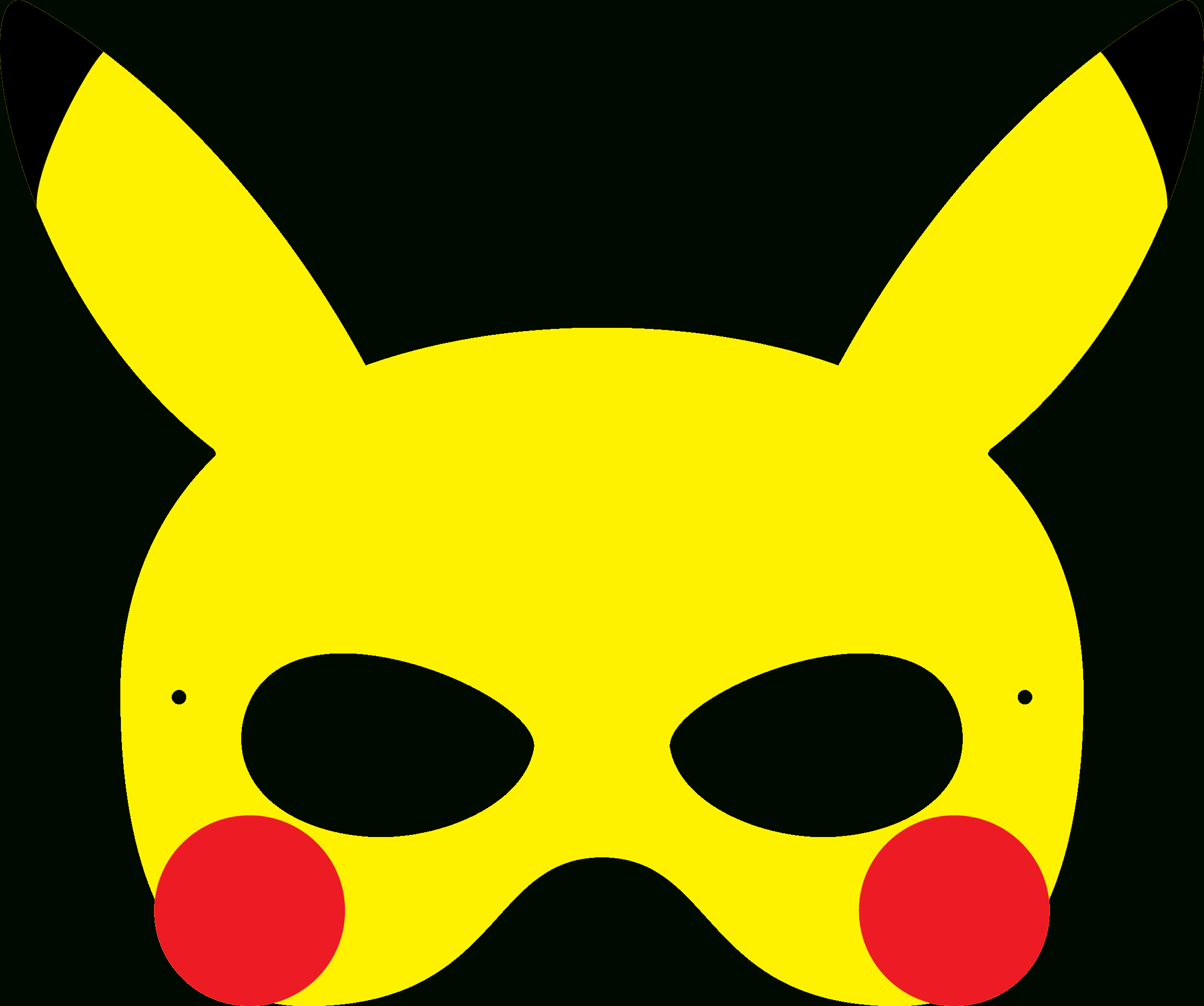 Pincrafty Annabelle On Pokemon Printables In 2019 | Pokemon - Free Printable Pokemon Masks