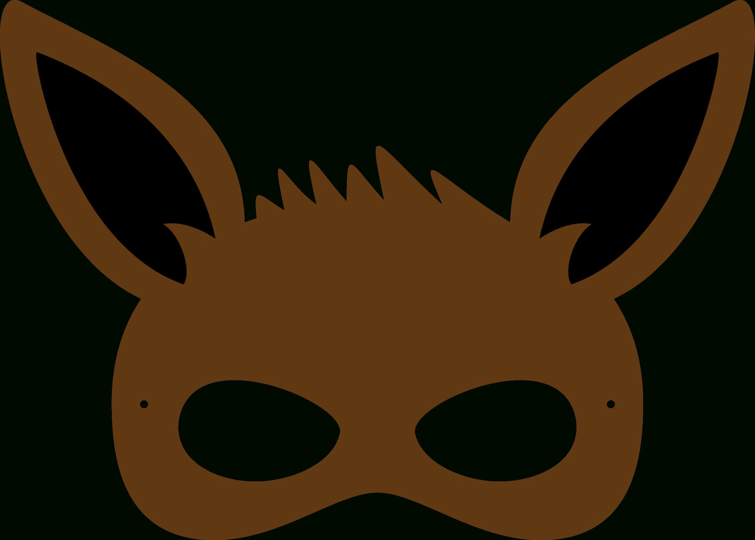 Pincrafty Annabelle On Pokemon Printables | Pinterest | Pokemon - Free Printable Pokemon Masks