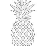 Pineapple Stencil | Free Stencil Gallery | Stencils | Pinterest   Free Printable Stencils For Painting
