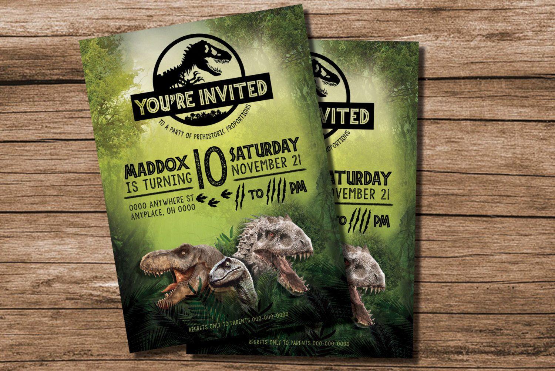 Pinglenda Godinez On Dinomite | Pinterest | Jurassic Park Party - Free Printable Jurassic Park Invitations