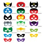 Pinkathy Mccloskey On Masks To Make   Pinterest   Superhero   Free Printable Superhero Photo Booth Props