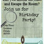 Pinkiki On Γενέθλια | Pinterest | Escape Room, Free Printable   Printable Escape Room Free