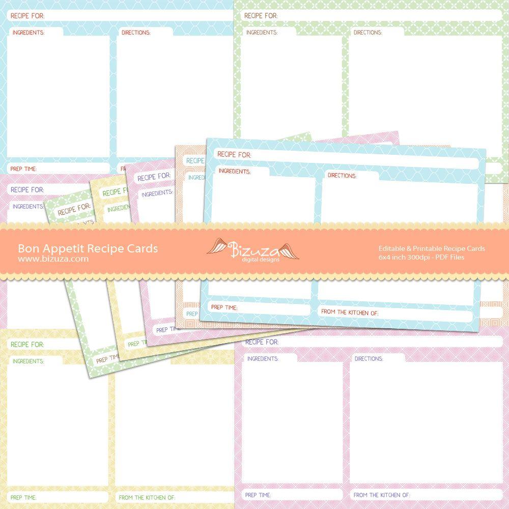 Pinlori Sanders On Great Ideas | Pinterest | Recipe Cards - Free Printable Cookbooks Pdf