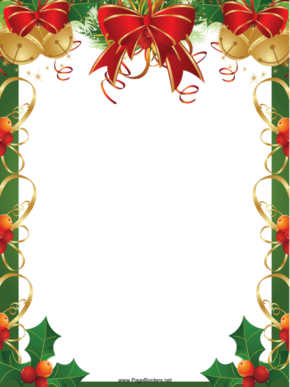 Pinmaria Aparecida On Bordas | Christmas Border, Christmas - Free Printable Christmas Borders
