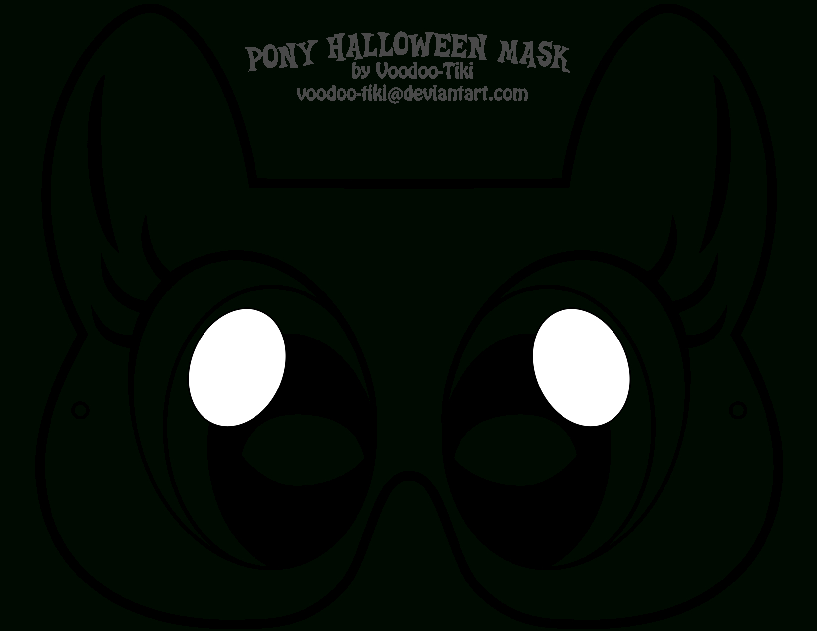 Pinsamarra Putt On Oakley's 1St Birthday!   Halloween Masks, My - Free My Little Pony Printable Masks