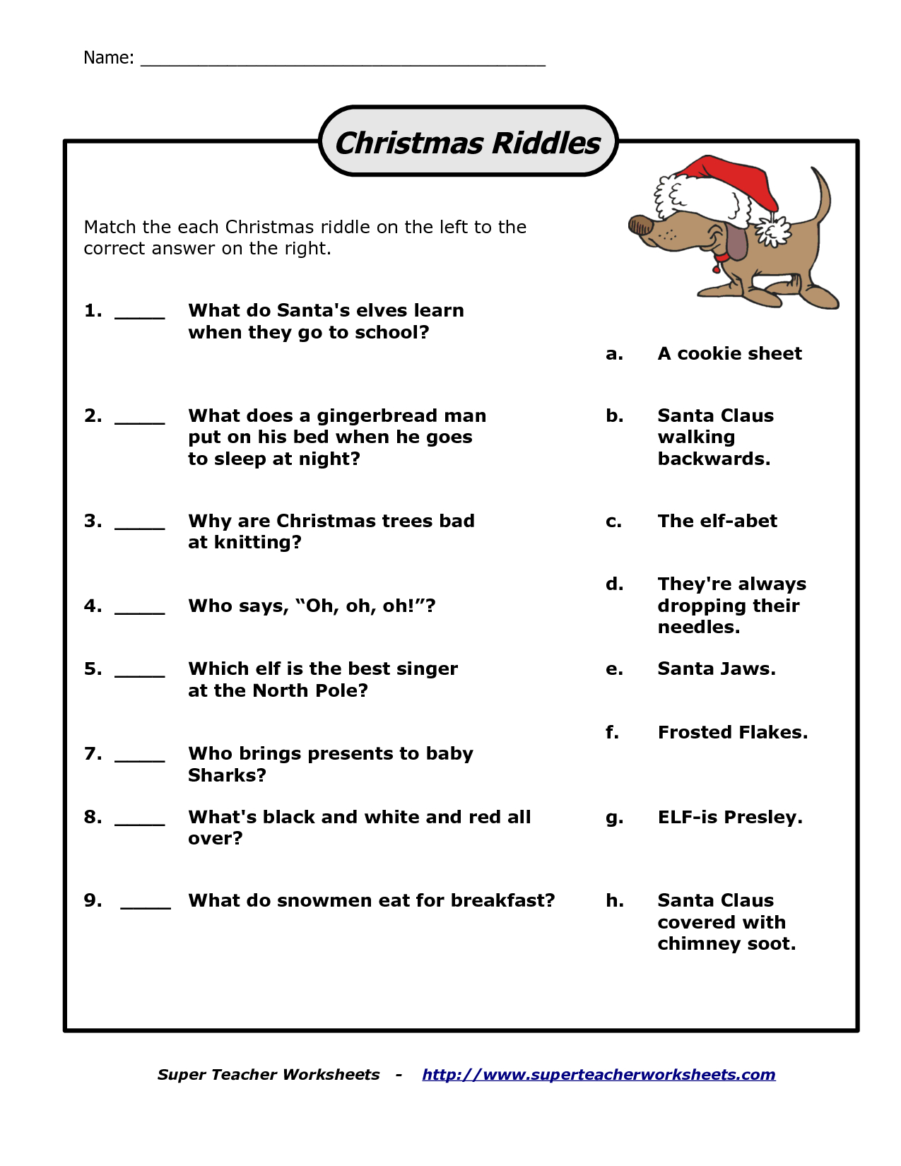 Pinsarah On Christmas | Christmas Riddles, Christmas Riddles For - Free Printable Riddles With Answers