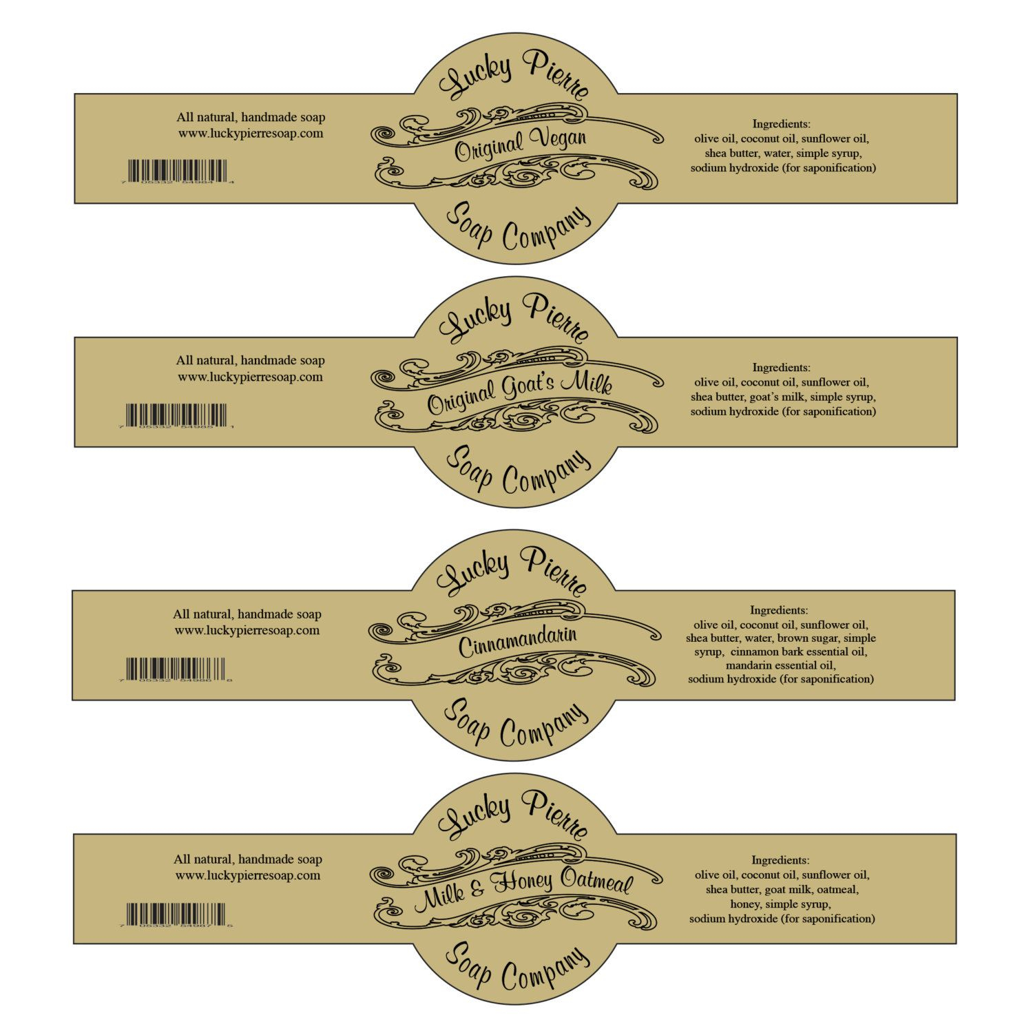 Pinsonja Wiese On Aromatherapy Recipes | Soap Labels, Diy Soap - Free Printable Cigar Label Template