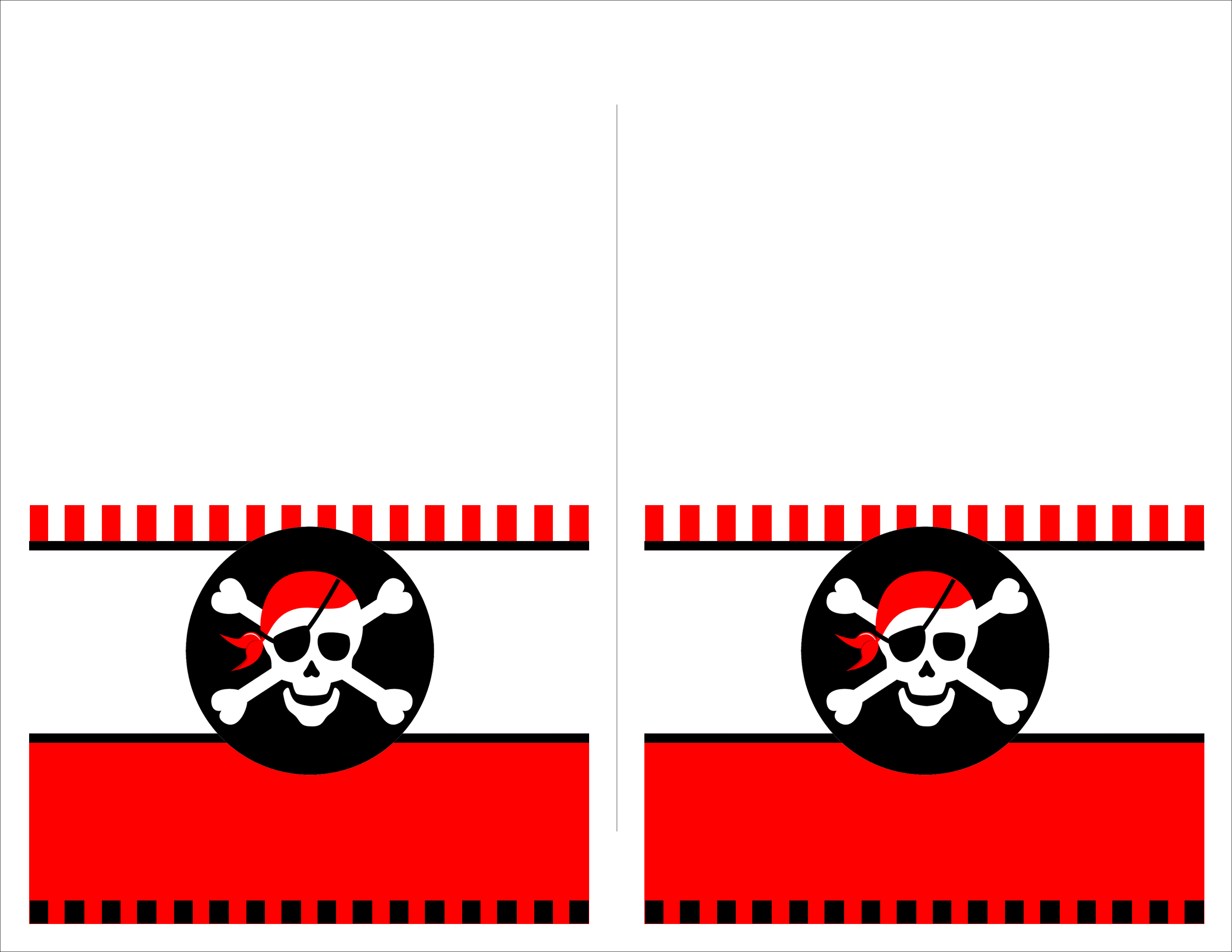 Pirate Birthday Party With Free Printables - How To Nest For Less™ - Free Printable Pirate Cupcake Toppers