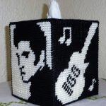 Plastic Canvas Elvis Tissue Box Cover …   Plastic Canvas   Pinte…   Free Printable Plastic Canvas Tissue Box Patterns