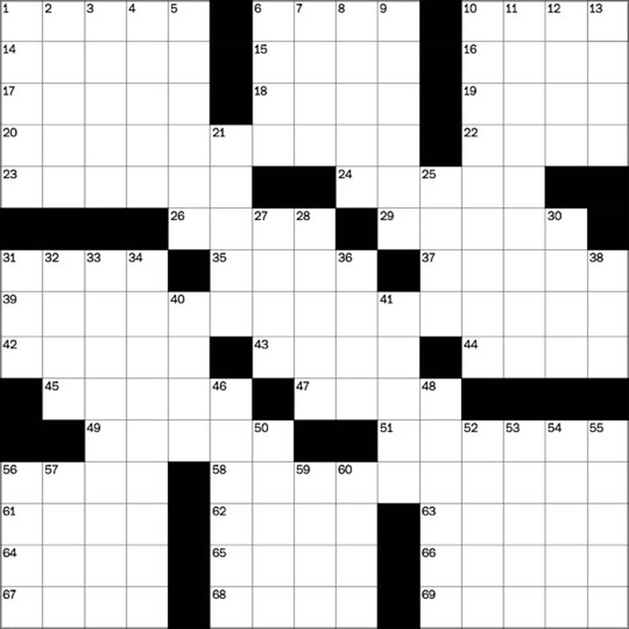 Play Free Crossword Puzzles From The Washington Post - The - Free Printable Crossword Puzzle Maker Download