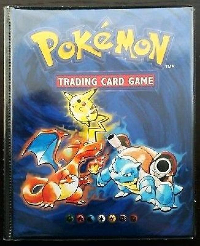 Pokemon Binder Cover Trading Card Game Folder Binder Pokemon Card - Pokemon Binder Cover Printable Free