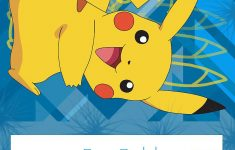 Pokemon Coloring Pages: Birthday Party Invitation Free And Printable – Pokemon Invitations Printable Free