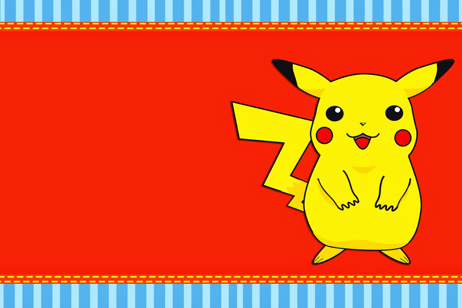 Pokemon: Free Printable Invitations. - Oh My Fiesta! For Geeks - Pokemon Invitations Printable Free