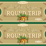 Polar Express Tickets Front 2Up Green | Free Printable Polar… | Flickr   Free Polar Express Printable Tickets