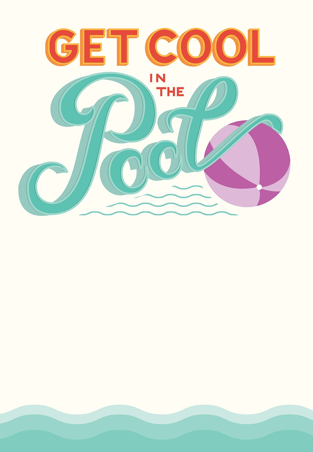 Pool Party - Free Printable Party Invitation Template   Greetings - Free Printable Pool Party Birthday Invitations