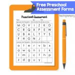 Preschool Assessment Forms   Teaching Mama   Free Printable Pre K Assessment Forms