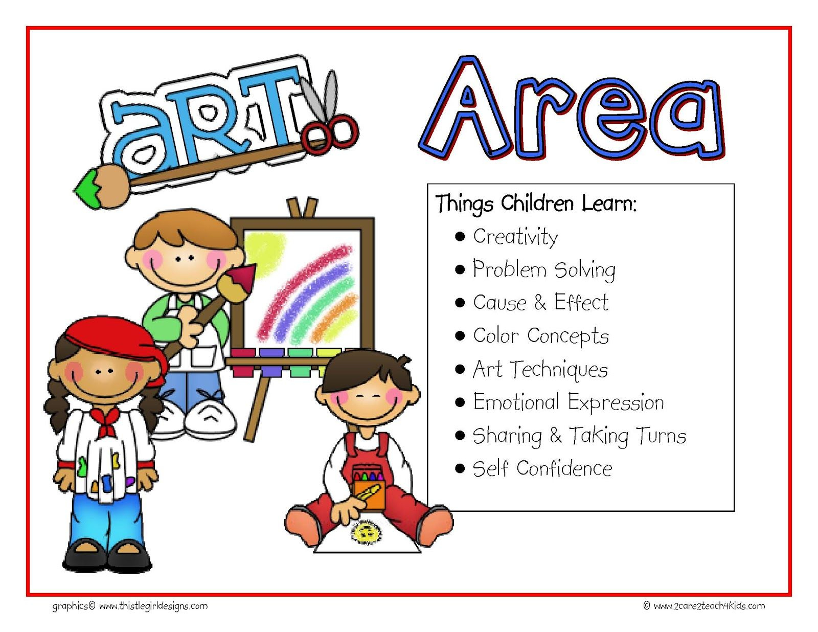 Preschool Free Play Clip Art | The Signs Include The Following - Free Printable Learning Center Signs