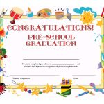 Preschool Graduation Certificate Template Free | K1,2,3 Graduation   Free Printable Children's Certificates Templates