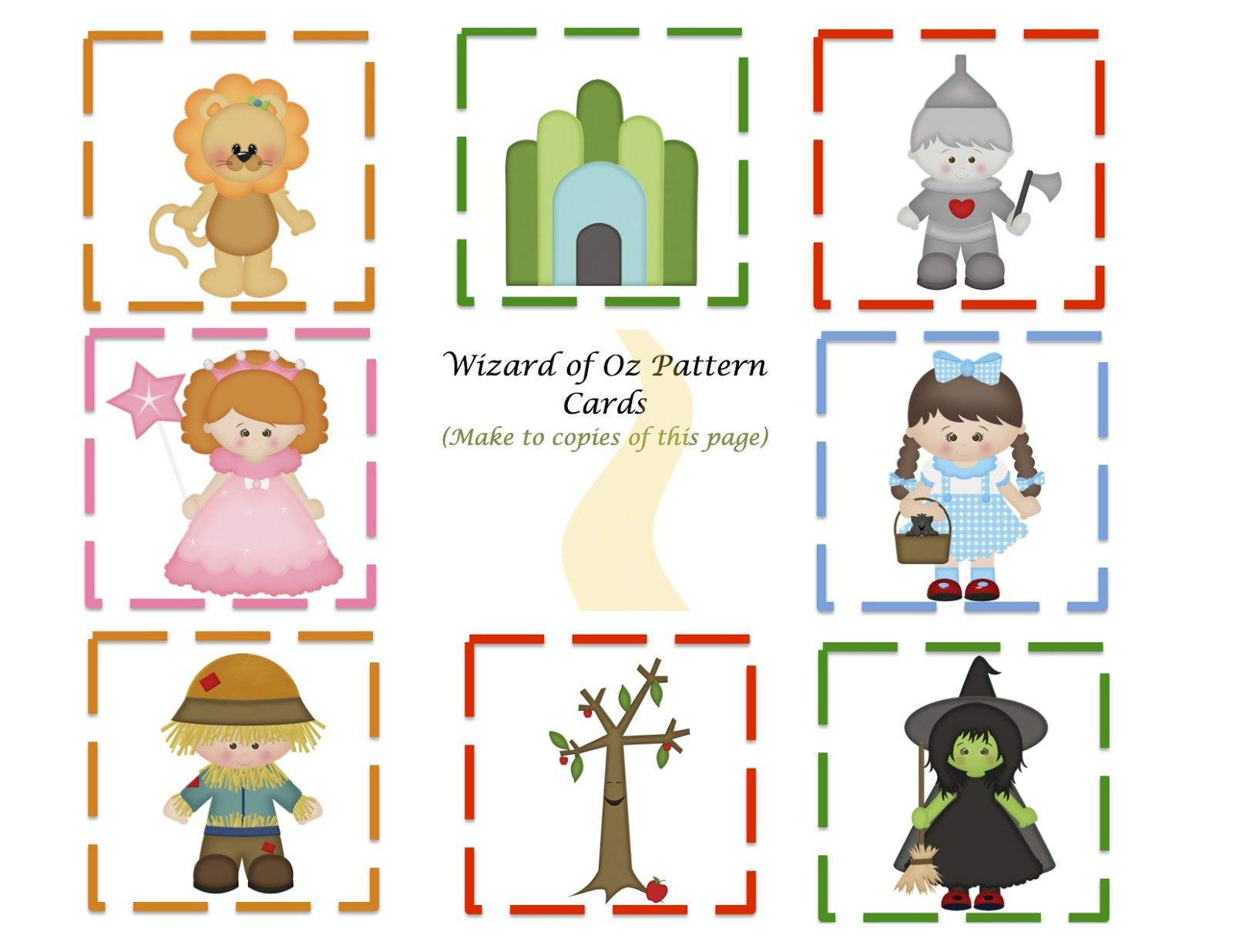 Preschool Printables   Things To Do In The Classroom   Wizard Of Oz - Free Printable Wizard Of Oz Masks