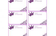 Princess Labels – Free Printable | Kids | Printables, Name Tags – Free Printable Name Tags For Students