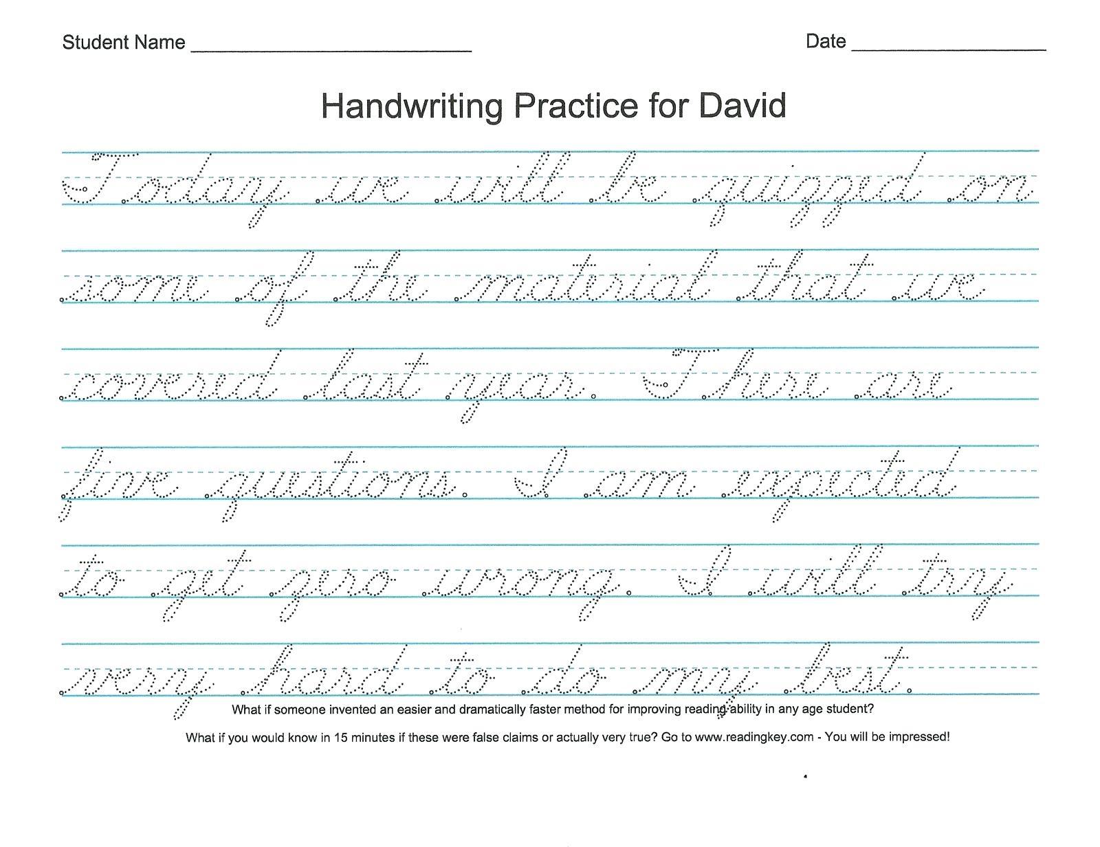 Print Cursive Worksheets Free Printable Bible Verses For Handwriting - Free Printable Cursive Practice