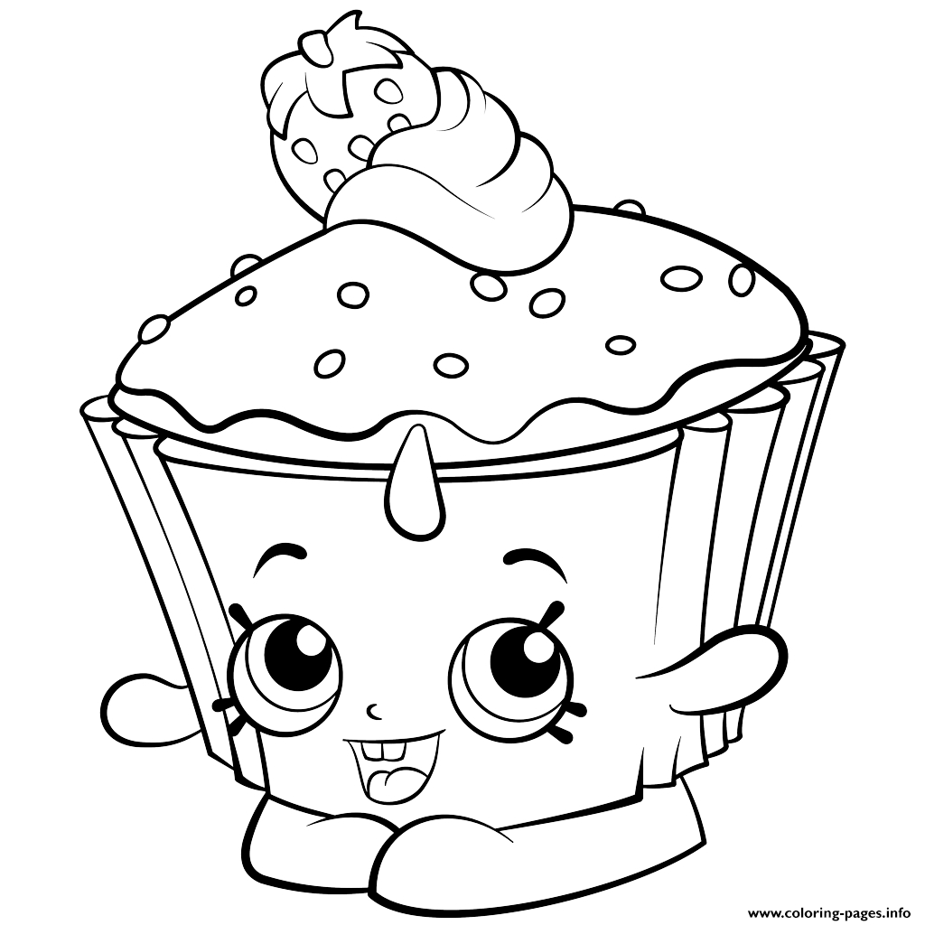 Print Exclusive Shopkins Colouring Free Coloring Pages | Shopkins - Free Coloring Pages Com Printable