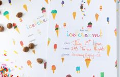 Print | Printable Ice Cream Party Invitation – Squirrelly Minds – Ice Cream Party Invitations Printable Free