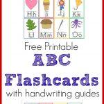 Printable Abc Flashcards   Homeschool Printables For Free   Free Printable Abc Flashcards With Pictures