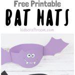 Printable Bat Hats | Preschool 2's | Pinterest | Halloween Crafts   Halloween Crafts For Kids Free Printable
