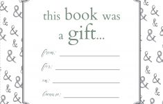 Printable Bookplates For Donated Books | Labels For Book | Books – Free Printable Christmas Bookplates