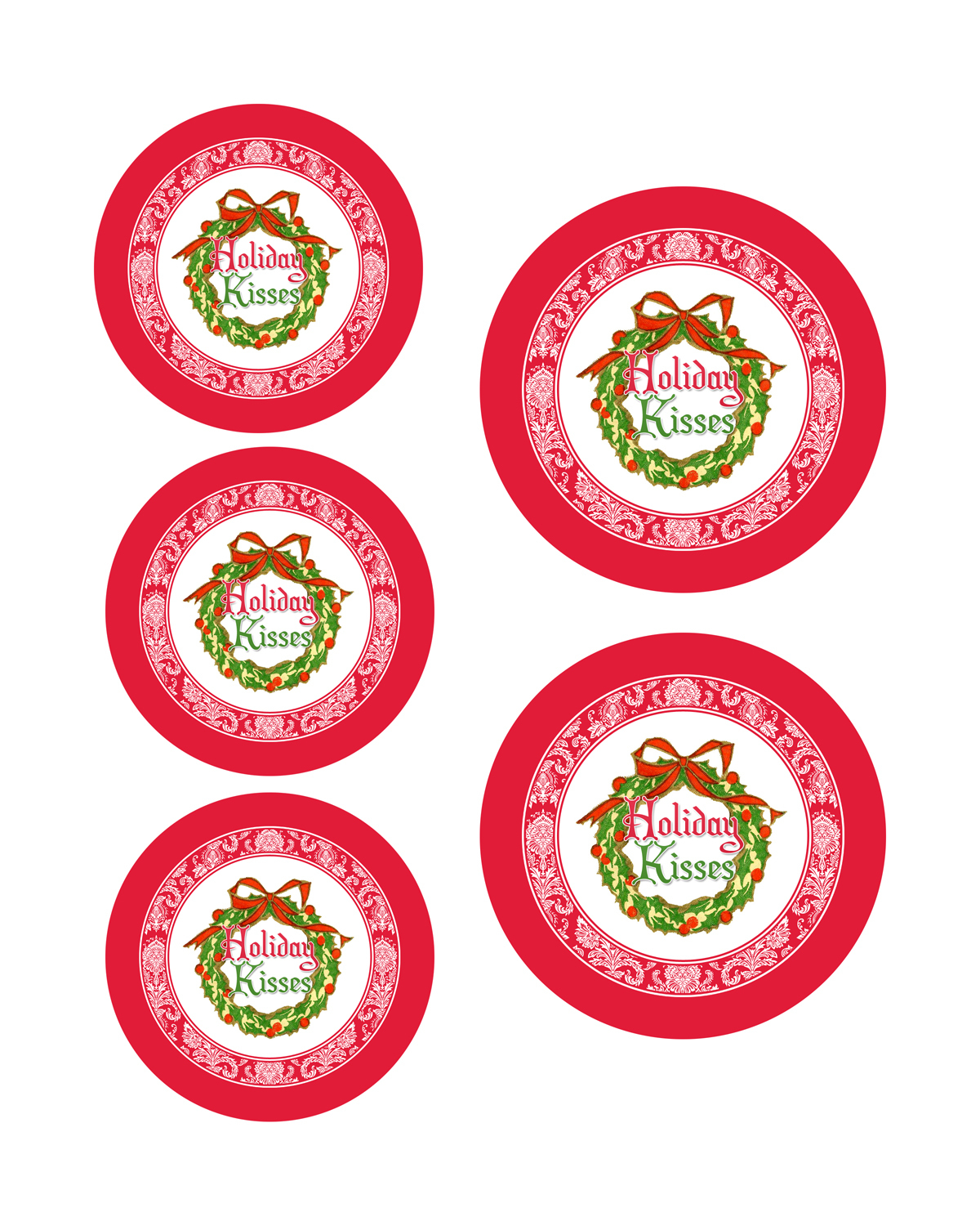 Printable Candy Jar Labels For The Holidays - The Graphics Fairy - Free Printable Jar Labels Christmas