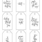 Printable Christmas Gift Tags Make Holiday Wrapping Simple   Free Online Gift Tags Printable