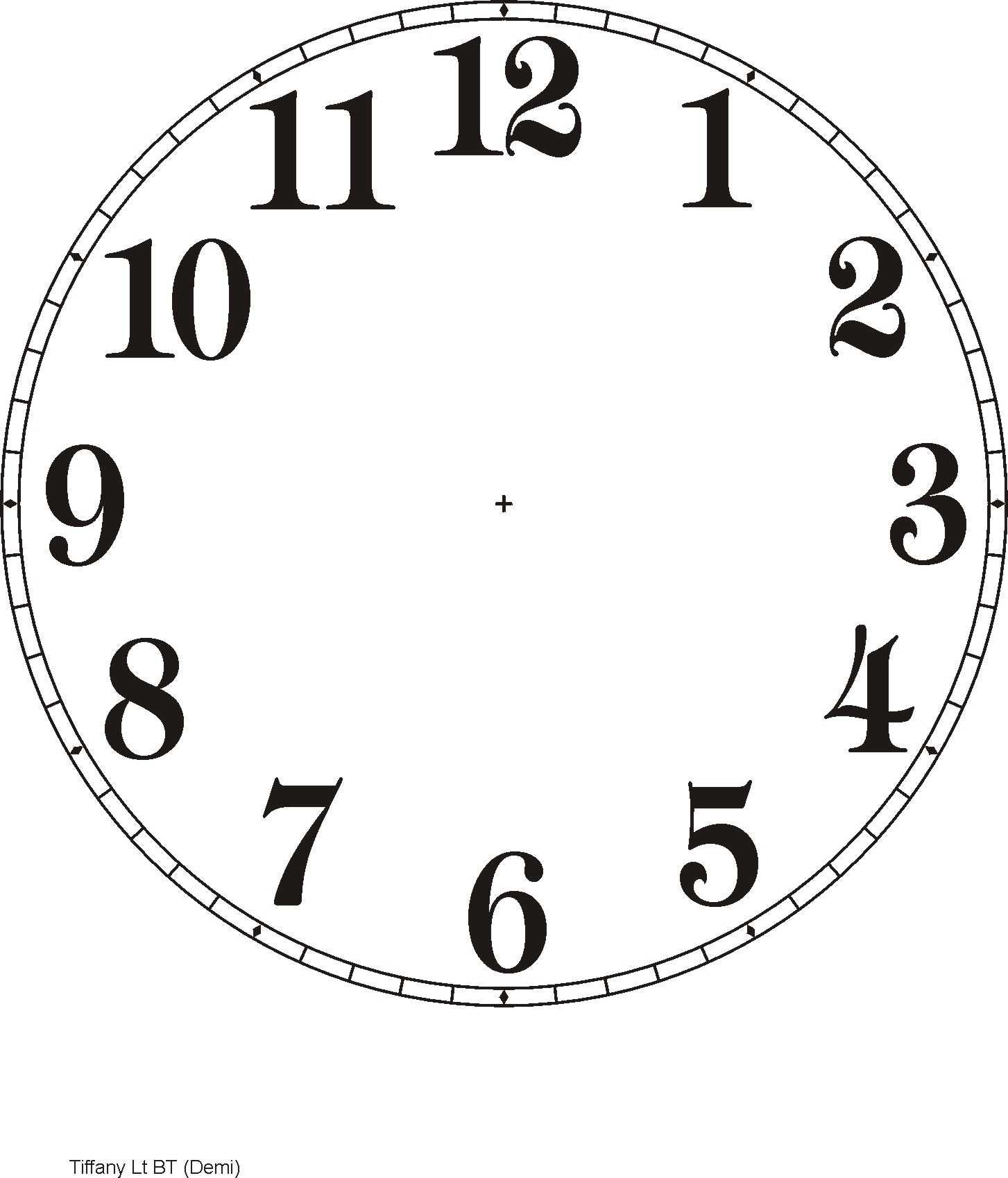 Printable Clock Templates   Here Are A Few Examples:   Diy Clocks - Free Printable Clock Faces