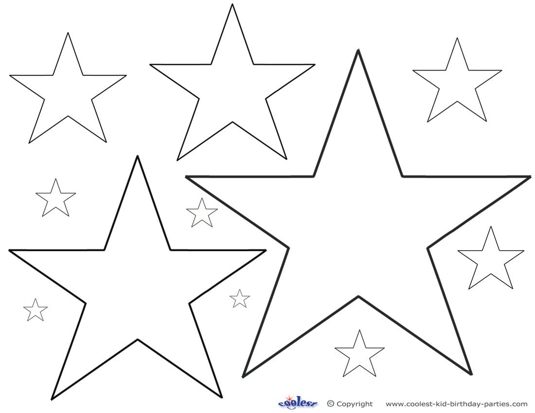Printable Color Star Decoration Coolest Free Printables | Diy - Star Of David Template Free Printable