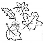 Printable Colored Autumn Leaves | Download Them Or Print   Free Printable Fall Leaves Coloring Pages