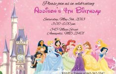 Free Printable Disney Invitations