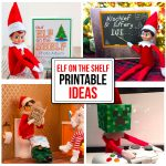 Printable Elf On The Shelf Ideas   Elf On The Shelf Free Printable Ideas