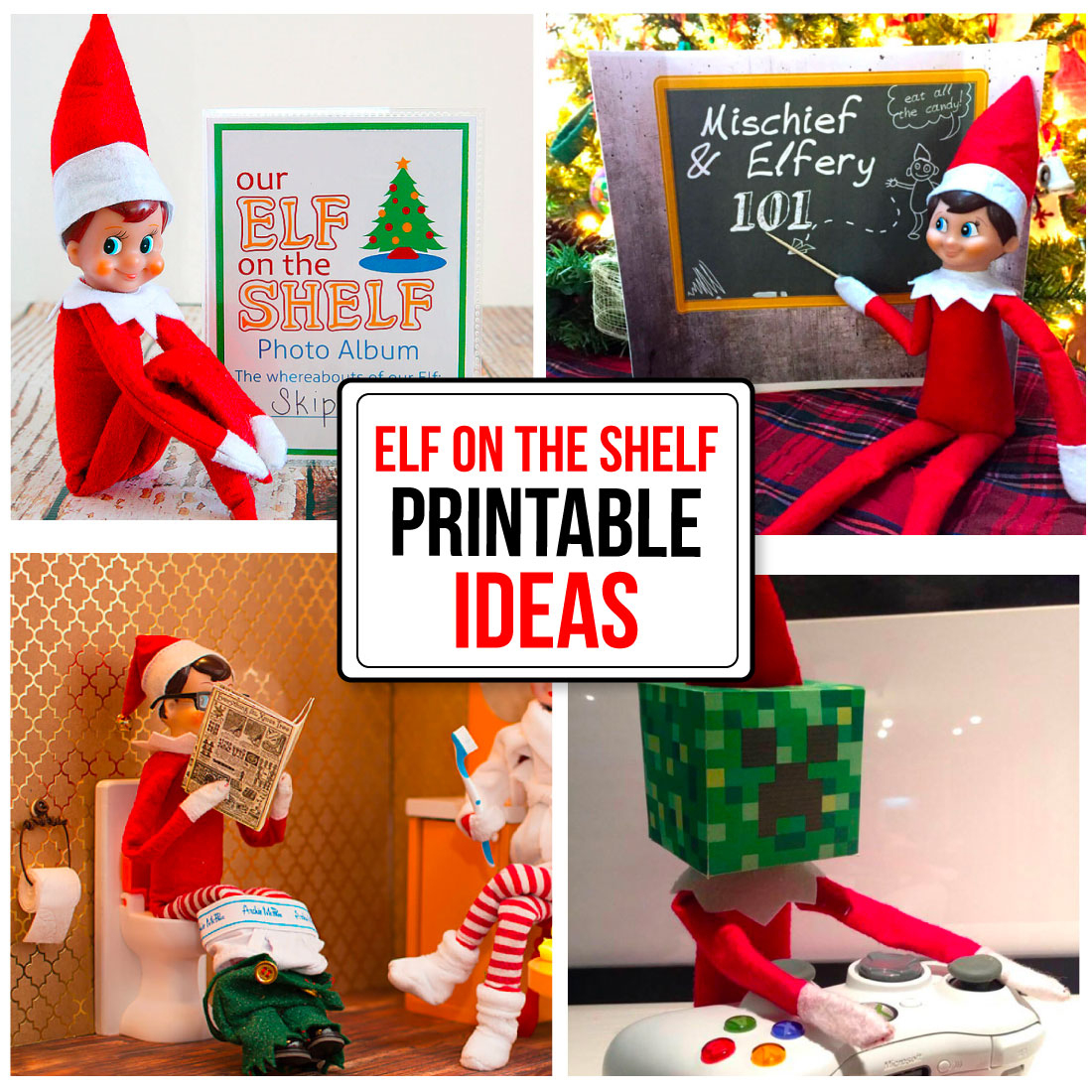 Printable Elf On The Shelf Ideas - Elf On The Shelf Free Printable Ideas