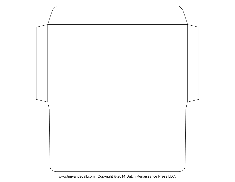 Printable Envelope Template   Occ Shoebox   Pinterest   Envelope - Free Printable Envelope Templates