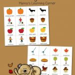 Printable Fall Match Game   Fall Crafts And Activities For Kids   Free Printable Toddler Matching Games