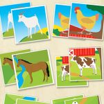 Printable Farm Animals Memory Game   Itsy Bitsy Fun   Free Printable Farm Animals