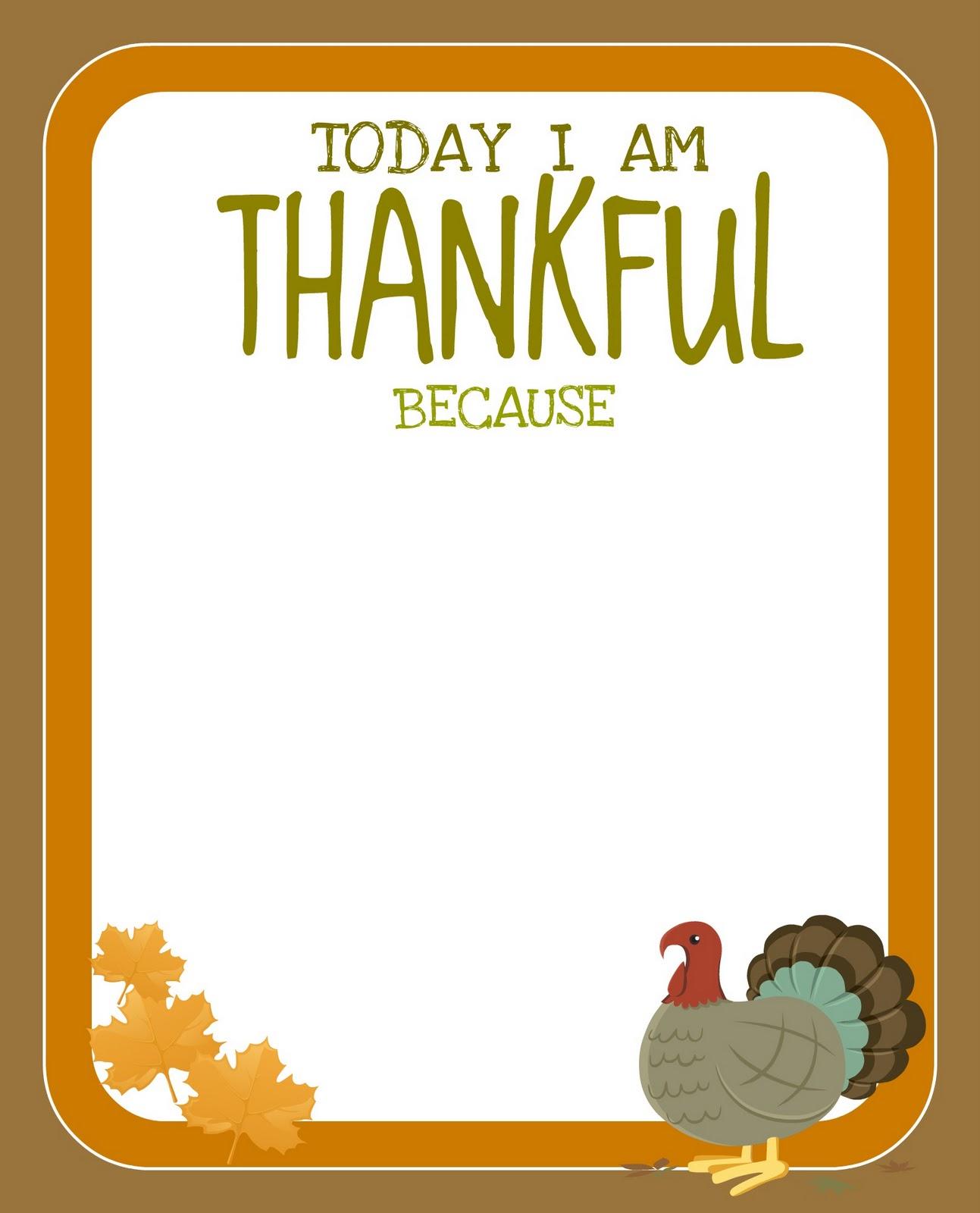 Printable} Free Thanksgiving Printable! - Creative Juice - Free Printable For Thanksgiving