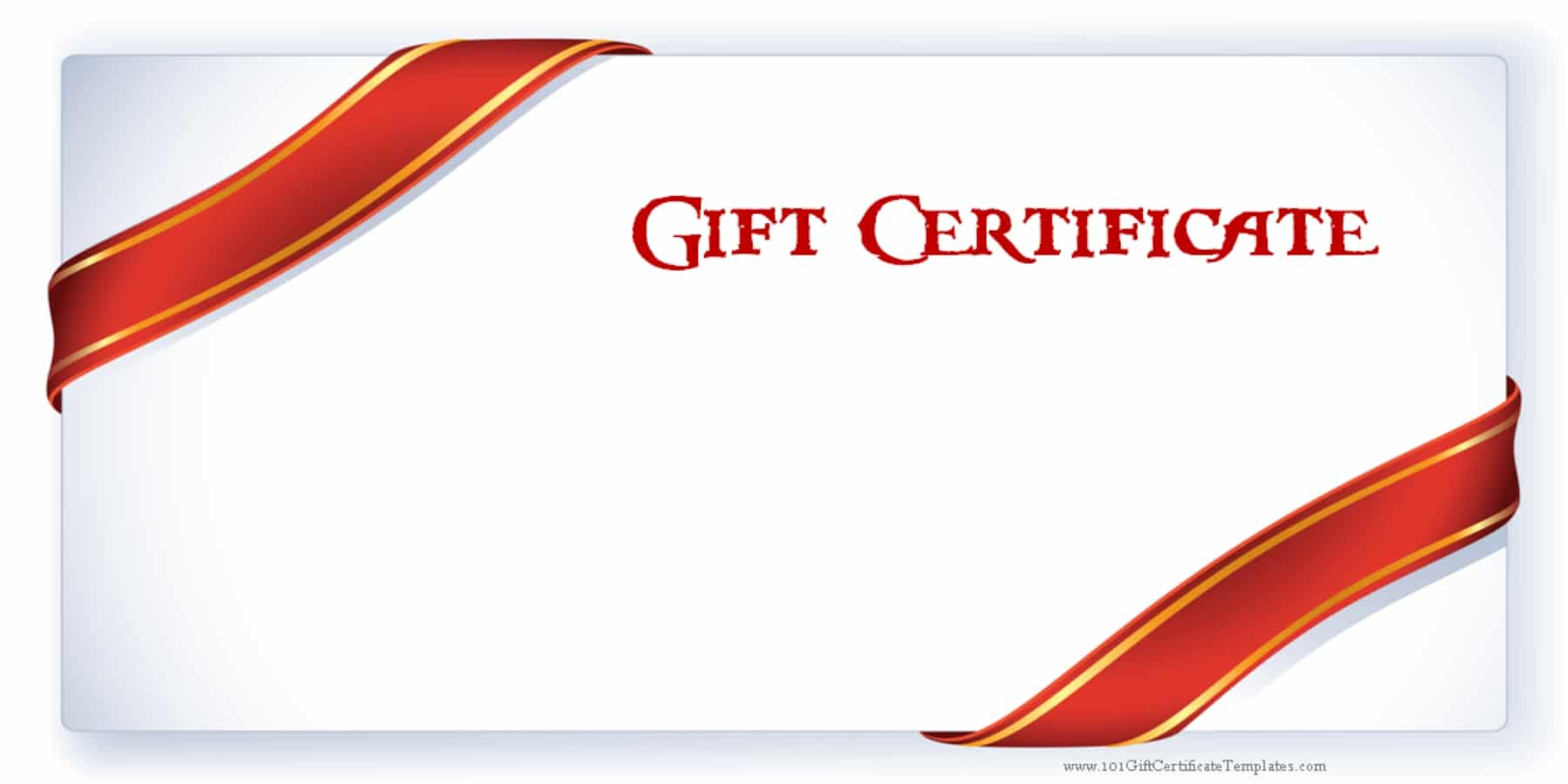 Printable Gift Certificate Templates - Free Printable Gift Certificates