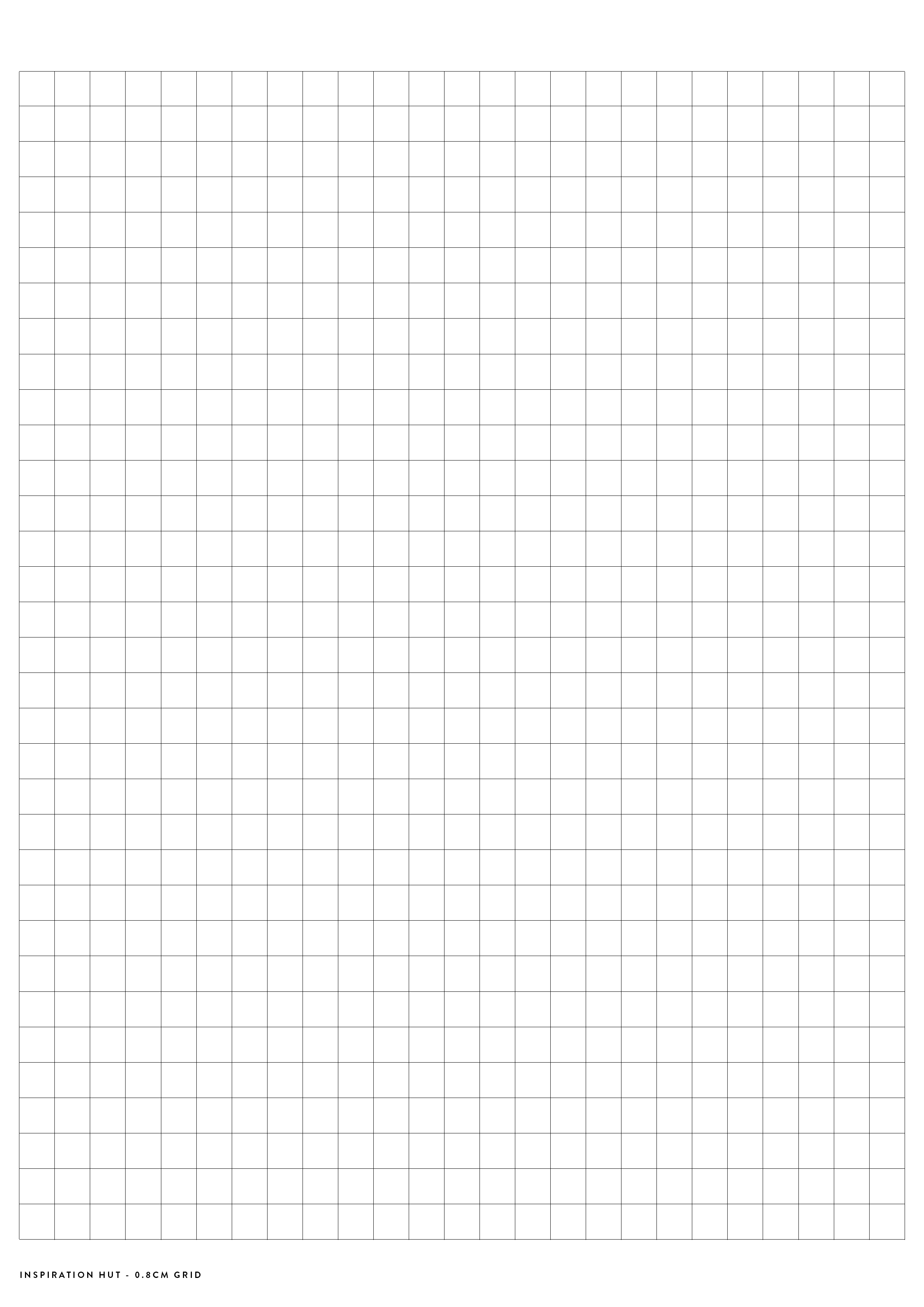 Printable Graph / Grid Paper Pdf Templates - Inspiration Hut - Cm Graph Paper Free Printable