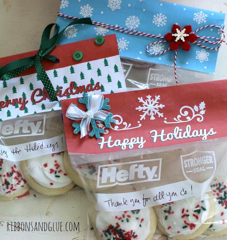 Printable Holiday Treat Bag Toppers - Free Printable Christmas Bag Toppers Templates