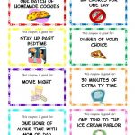 Printable Kid Coupons   This Would Make A Great Reward For Good   Create Your Own Coupon Free Printable