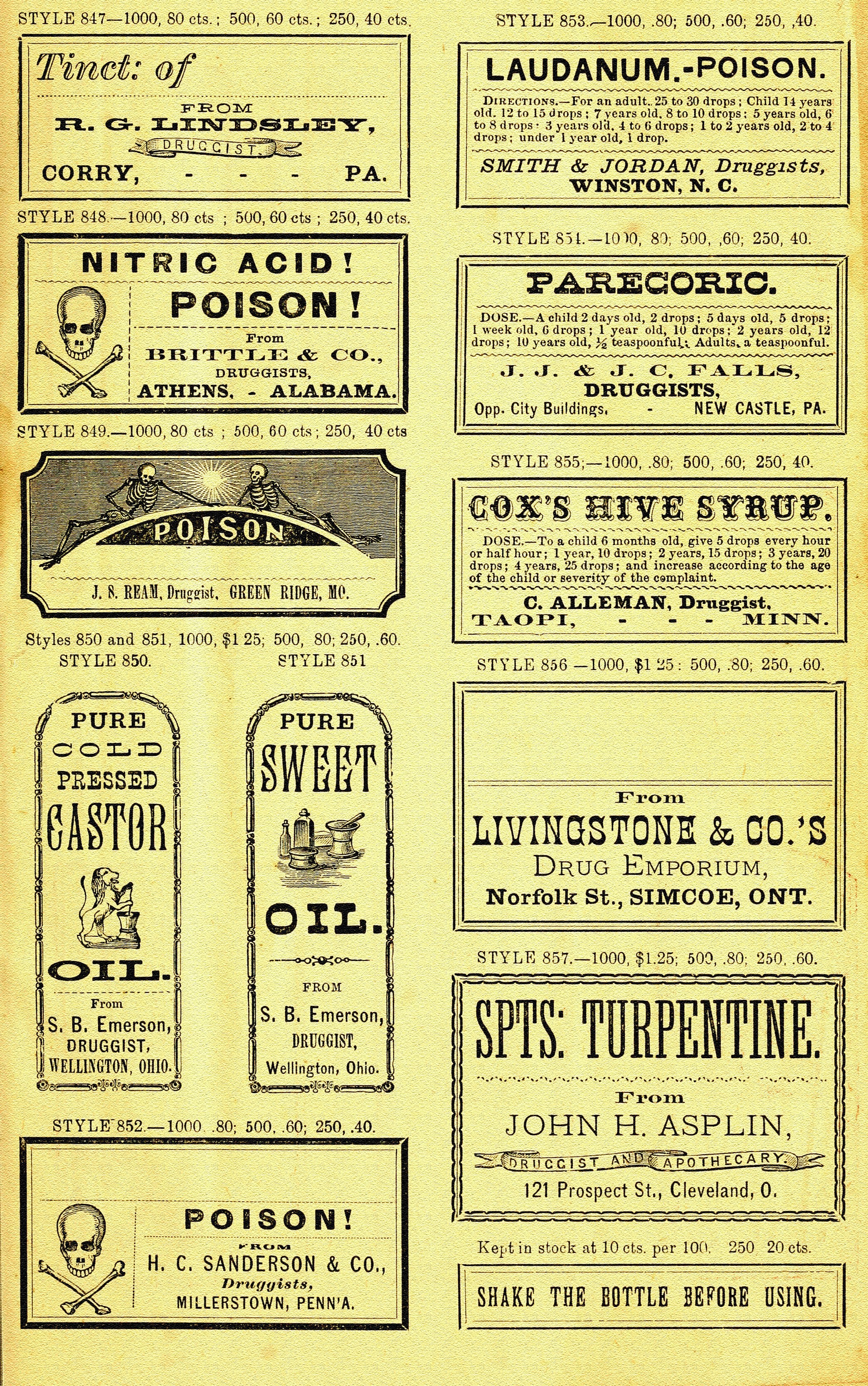 Printable Labels For Apothecary Jars   Oh So Nifty Vintage Graphics - Free Printable Apothecary Jar Labels