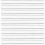 Printable Lined Paper For Kids | World Of Label   Free Printable Kindergarten Lined Paper Template